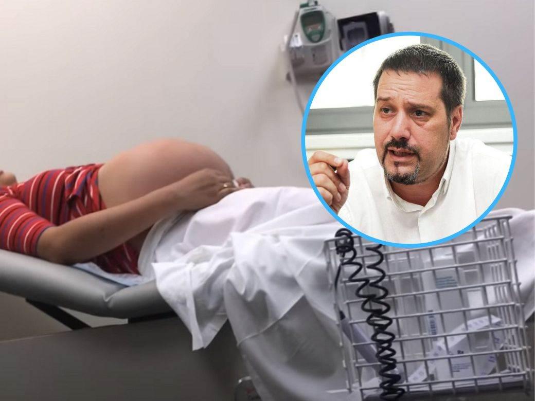 dr radmilo jankovic trudnica na pregledu